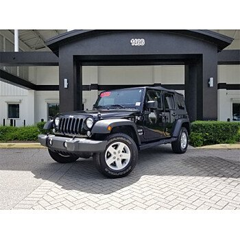 2017 Jeep Wrangler for sale 101343174