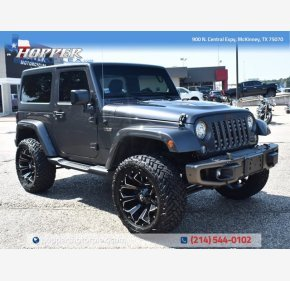 2017 Jeep Wrangler for sale 101358236