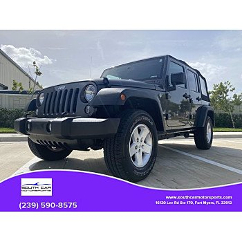 2017 Jeep Wrangler for sale 101374871
