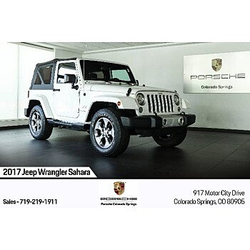 2017 Jeep Wrangler for sale 101375263