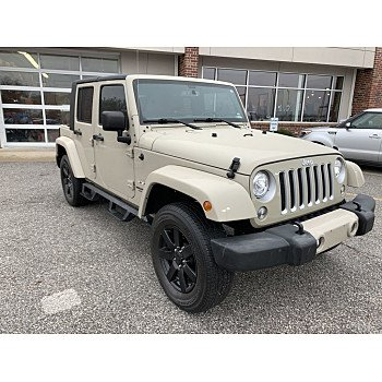 2017 Jeep Wrangler 4WD Unlimited Sahara for sale 101395168