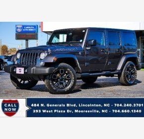 2017 Jeep Wrangler for sale 101404391