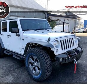 2017 Jeep Wrangler 4WD Unlimited Sahara for sale 101415912
