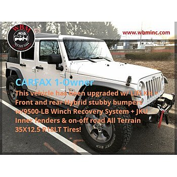 2017 Jeep Wrangler 4WD Unlimited Sahara for sale 101459093