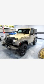 2017 Jeep Wrangler for sale 101495273