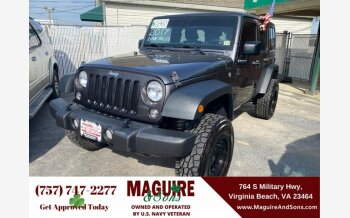 2017 Jeep Wrangler for sale 101500195