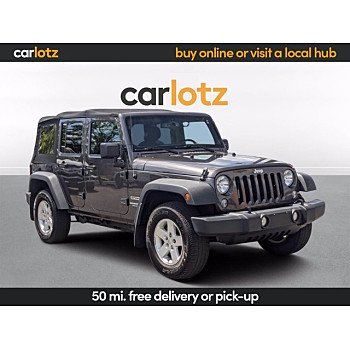 2017 Jeep Wrangler for sale 101517873