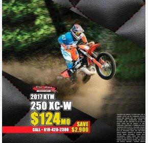 2017 KTM 250XC-W for sale 200713424