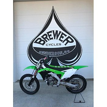 2017 Kawasaki KX250F for sale 200712311