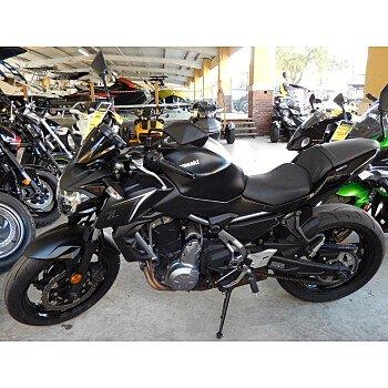 2017 Kawasaki Z650 for sale 200705861