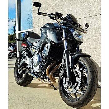 2017 Kawasaki Z650 for sale 200722968