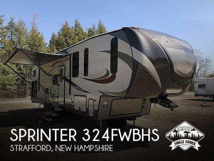 2017 Keystone Sprinter 324FWBHS for sale 300196097