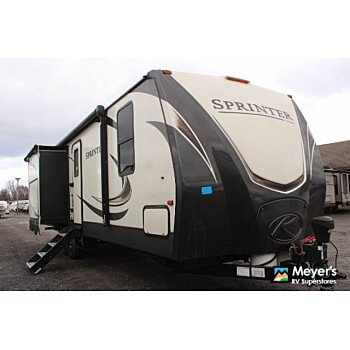 2017 Keystone Sprinter for sale 300201945