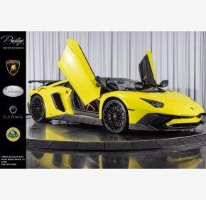 2017 Lamborghini Aventador for sale 101398533
