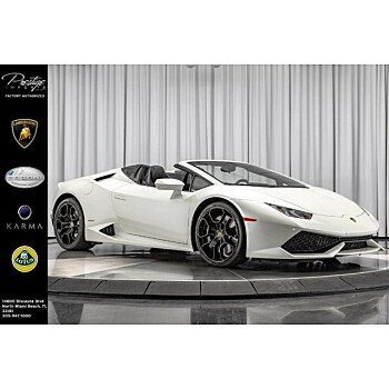 2017 Lamborghini Huracan LP 610-4 Spyder for sale 101119718