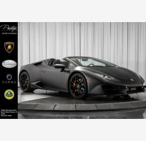 2017 Lamborghini Huracan LP 580-2 Spyder for sale 101157069