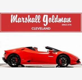 2017 Lamborghini Huracan LP 610-4 Spyder for sale 101225715