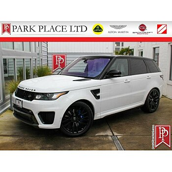 2017 Land Rover Range Rover Sport SVR for sale 101285131