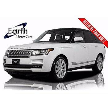 2017 Land Rover Range Rover for sale 101363029