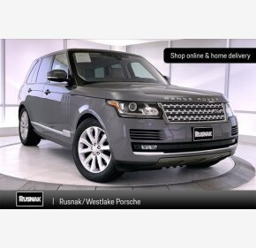 2017 Land Rover Range Rover HSE for sale 101372163