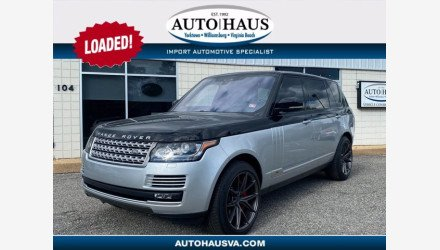 2017 Land Rover Range Rover for sale 101407635