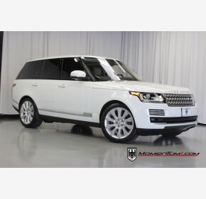 2017 Land Rover Range Rover for sale 101409490