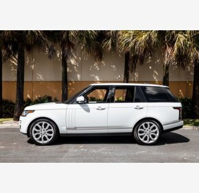 2017 Land Rover Range Rover HSE for sale 101415286