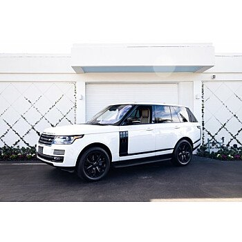 2017 Land Rover Range Rover HSE for sale 101441568