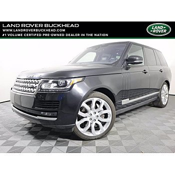 2017 Land Rover Range Rover for sale 101460410