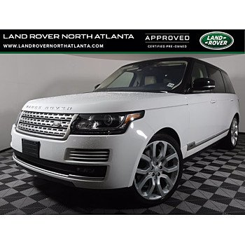 2017 Land Rover Range Rover for sale 101472483