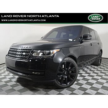 2017 Land Rover Range Rover for sale 101477035