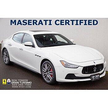 2017 Maserati Ghibli S Q4 for sale 101286060