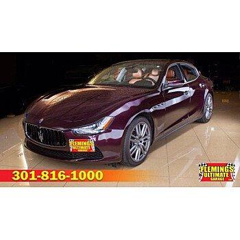 2017 Maserati Ghibli for sale 101334772