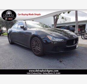 2017 Maserati Ghibli for sale 101412763