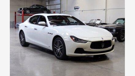 2017 Maserati Ghibli for sale 101482942