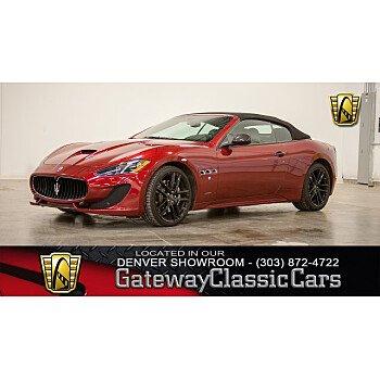 2017 Maserati GranTurismo Convertible for sale 101088744