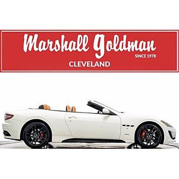 2017 Maserati GranTurismo Sport Convertible for sale 101539508