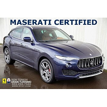 2017 Maserati Levante w/ Sport Package for sale 101285786