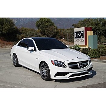 2017 Mercedes-Benz C63 AMG for sale 101384710