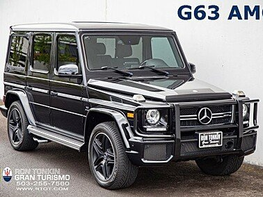 2017 Mercedes-Benz G63 AMG for sale 101326126