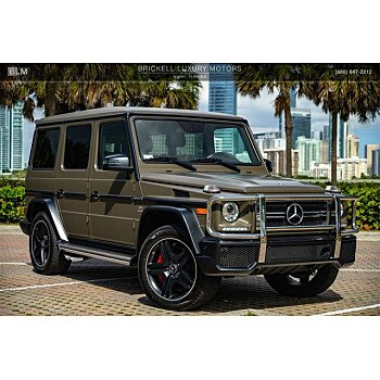 2017 Mercedes-Benz G63 AMG for sale 101443676