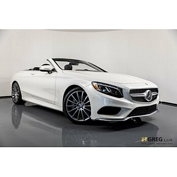 2017 Mercedes-Benz S550 Cabriolet for sale 101080540