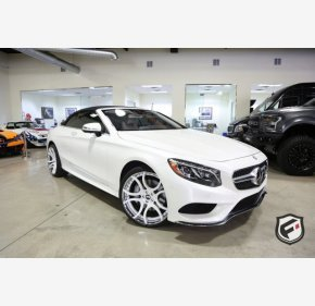 2017 Mercedes-Benz S550 Cabriolet for sale 101064353