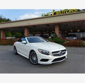 2017 Mercedes-Benz S550 Cabriolet for sale 101203619