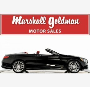 2017 Mercedes-Benz S550 Cabriolet for sale 101230794