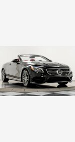 2017 Mercedes-Benz S550 Cabriolet for sale 101230794