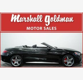 2017 Mercedes-Benz S63 AMG 4MATIC Cabriolet for sale 101112405