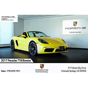 2017 Porsche 718 Boxster for sale 101394258