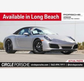 2017 Porsche 911 Carrera Cabriolet for sale 101058276