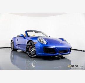 2017 Porsche 911 Cabriolet for sale 101100538